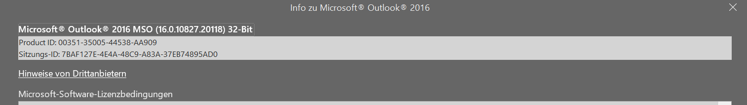 Outlook 2016 crashing when selecting folder - Microsoft Tech