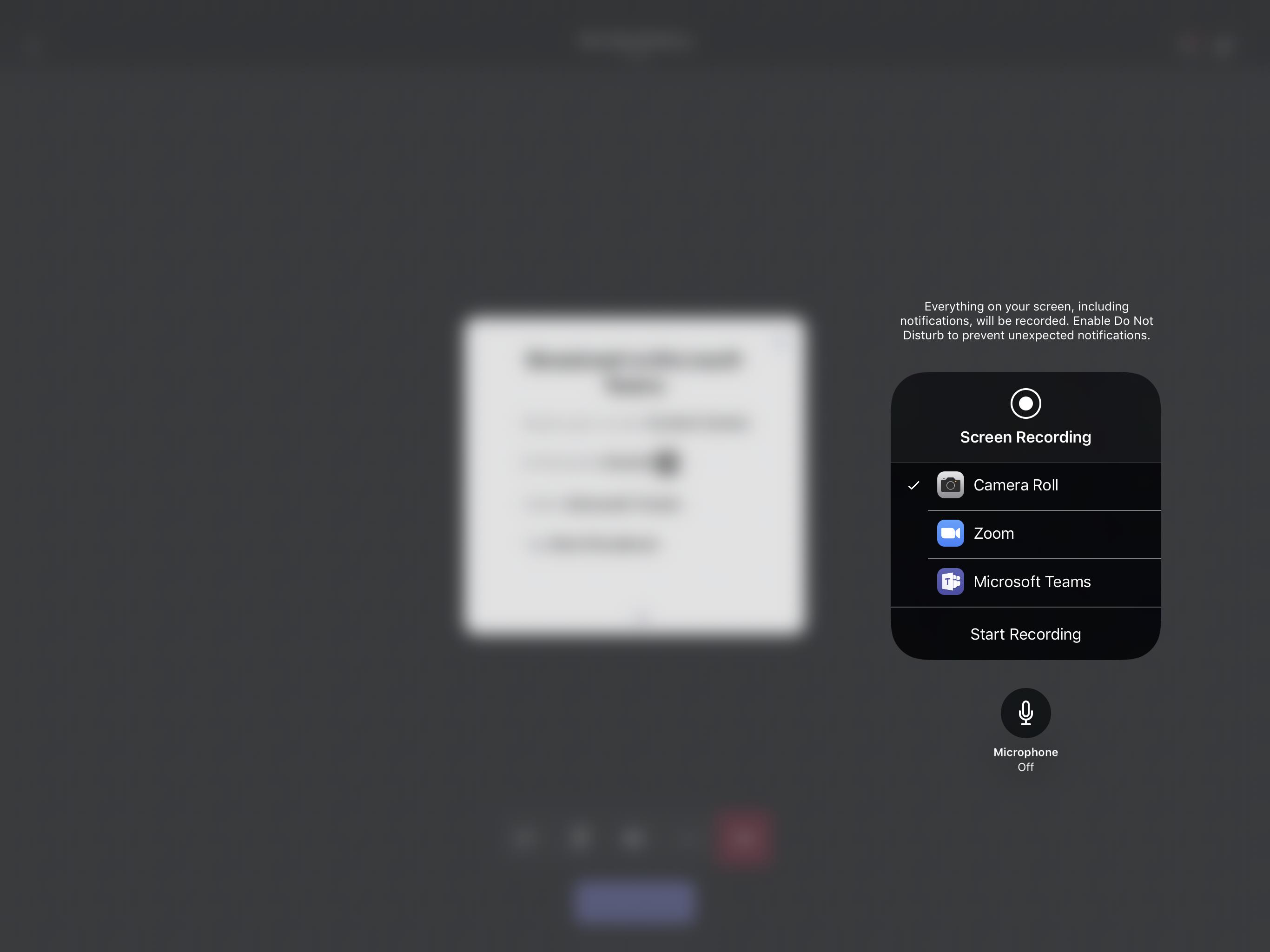 iOS Screen Sharing NOT working on iPad Pro 12 9