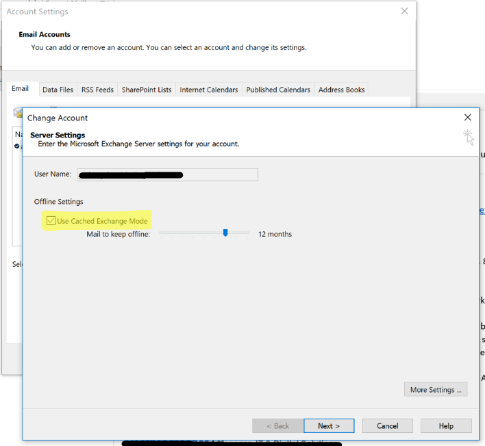 Outlook error when doing a search - Microsoft Tech Community - 146044