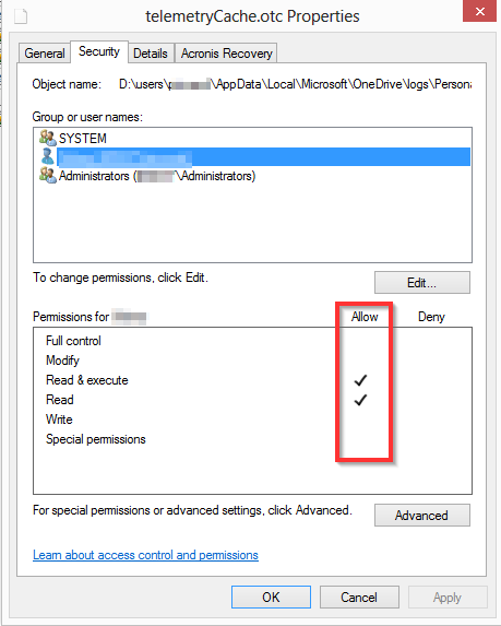 Too much Disk writes : many onedrive exe activities with