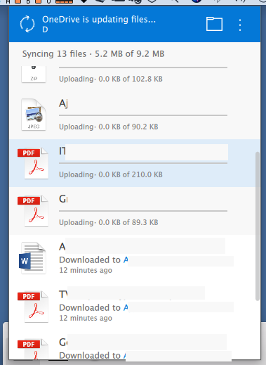 OneDrive Mac - Sync with SharePoint Library - no upload, only