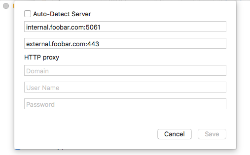 Cannot log in / specify discovery addresses - Microsoft Tech