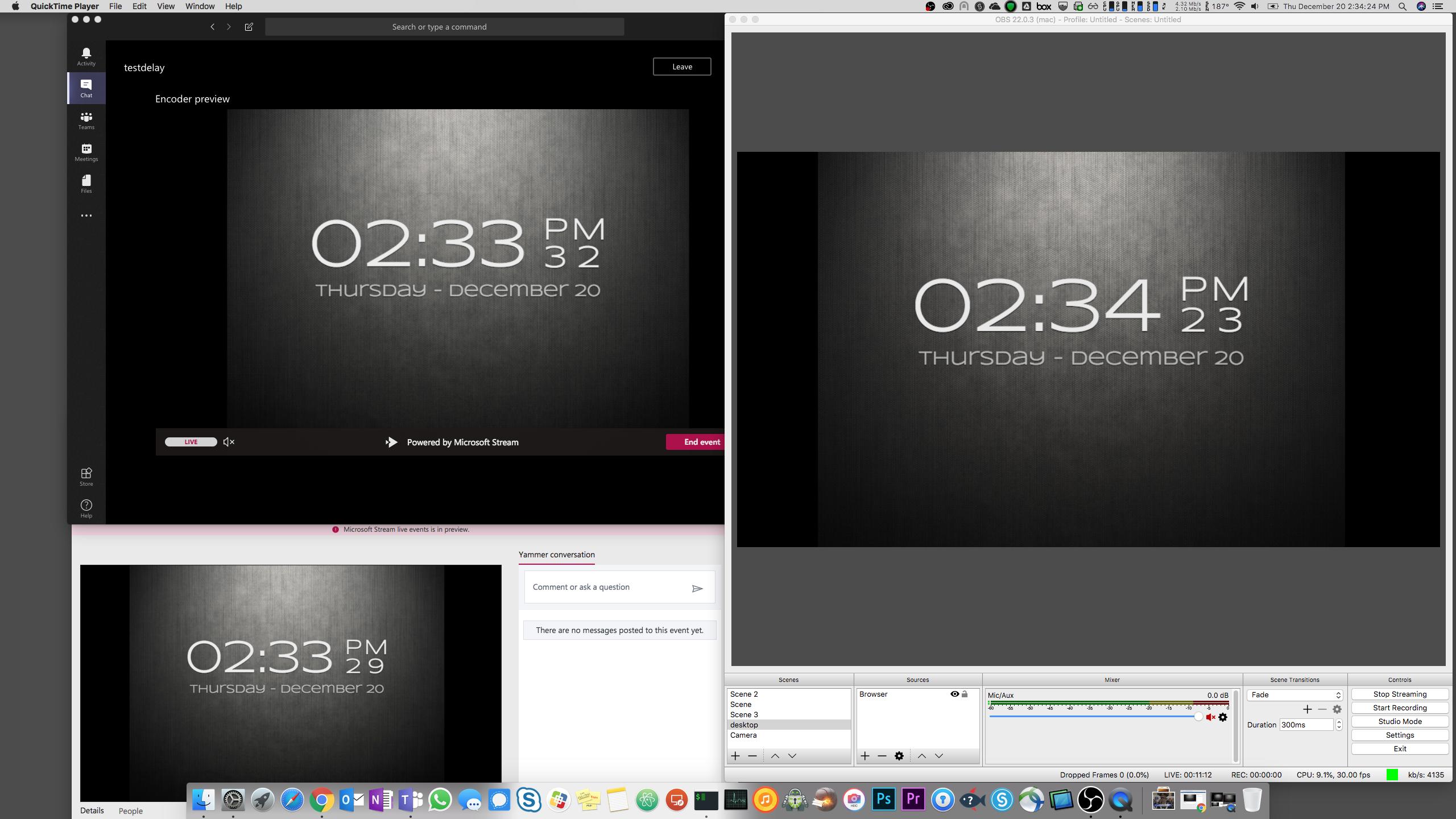 Stream Live Event has a 50 second delay - Microsoft Tech Community