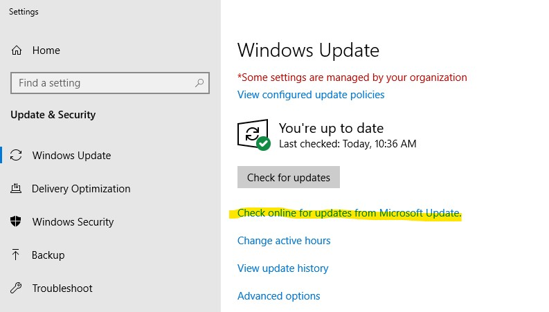 Windows 10 1809 - Feature on Demand but prevent users from using