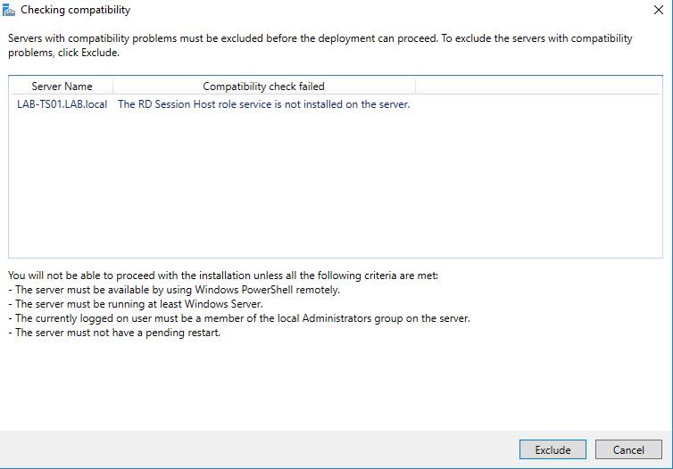 Adding Windows Server 2019 Preview Build 17623 as Remote Desktop
