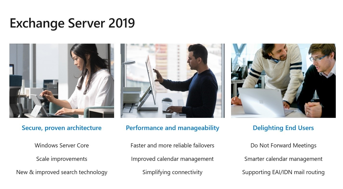 Exchange Server 2019 Now Available - Microsoft Tech