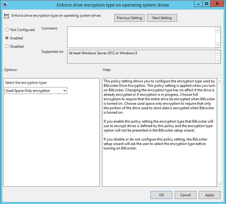 Enabling BitLocker on Exchange Servers - Microsoft Tech Community