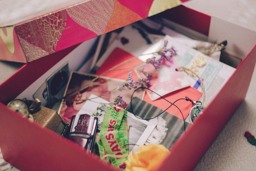 Sentimental Items should be left until last as they can be the most difficult decisions to make.
