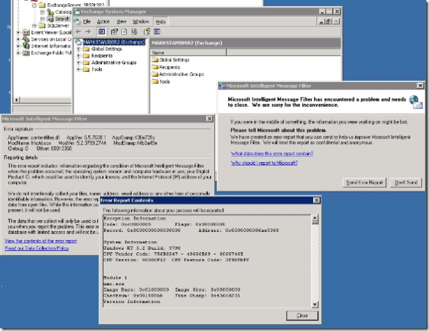 ESM with IE7 Unable to Open the Help File - Microsoft Tech