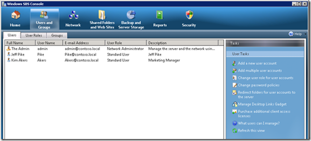 Manage Your Domain with Windows SBS 2008 and Windows 7