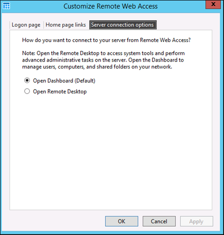 Configuring and Customizing Remote Web Access on Windows Server 2012