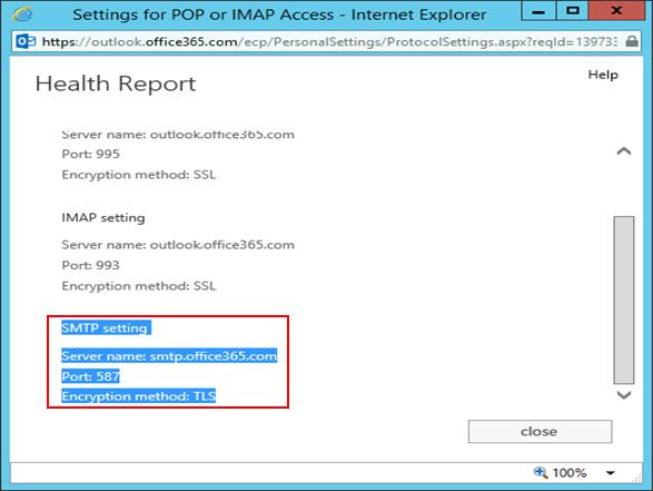 Configuring Health Report in Windows Server 2012 R2