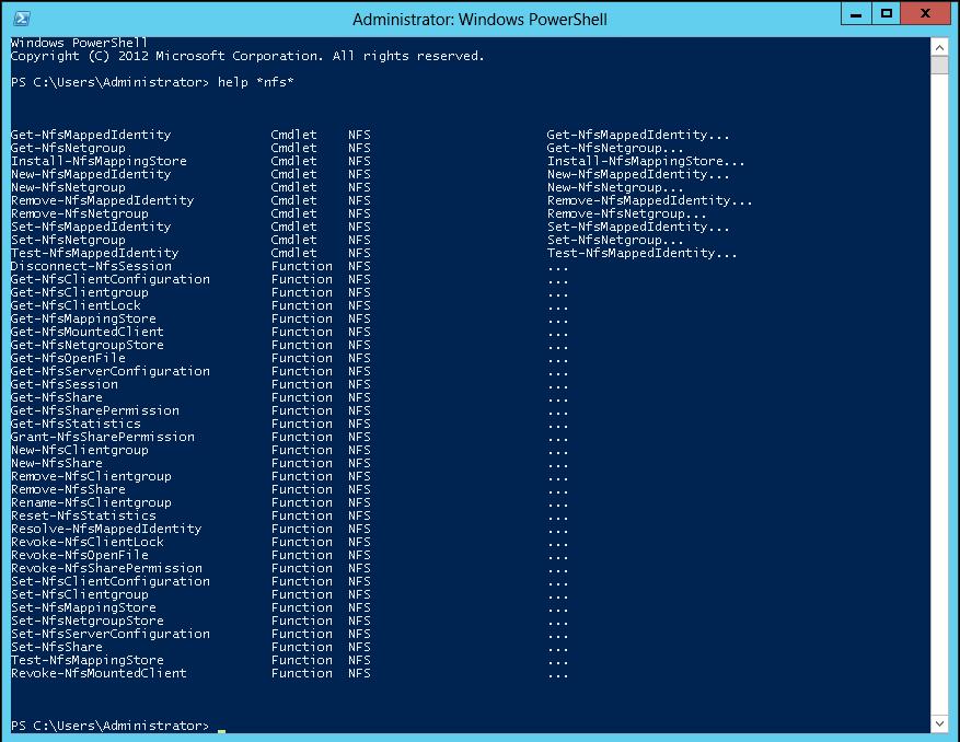 NFS Identity Mapping in Windows Server 2012 - Microsoft Tech