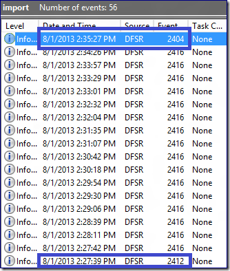 DFS Replication Initial Sync in Windows Server 2012 R2
