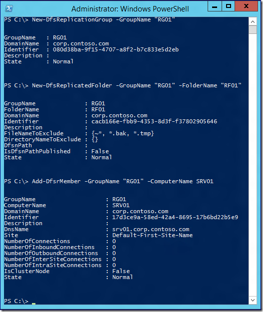 DFS Replication Initial Sync in Windows Server 2012 R2: Attack of