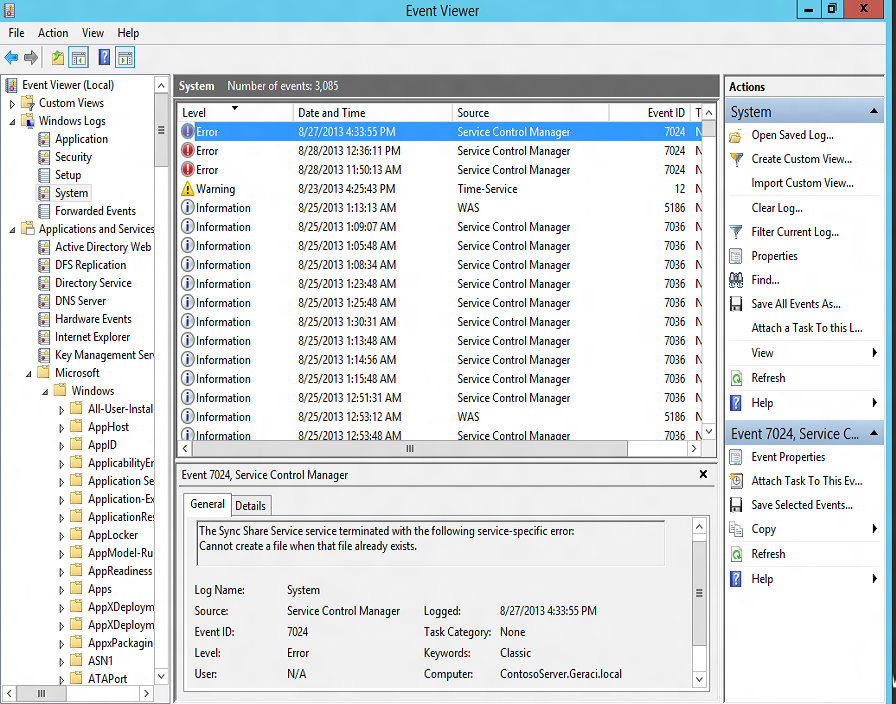 Windows Server 2012 R2 – Resolving Port Conflict with IIS