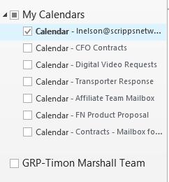 Broken Group Calendar