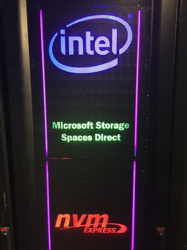 Microsoft And Intel Showcase Storage Spaces Direct With Nvm