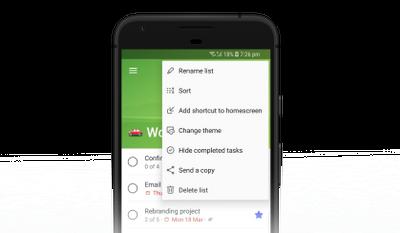 Add a shortcut to your homescreen