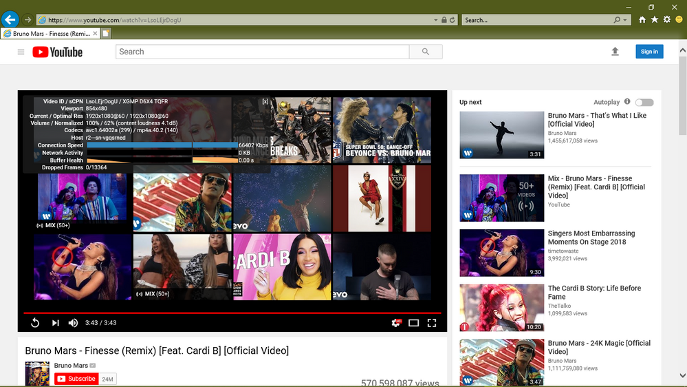 Internet Explorer 11 Video Acceleration