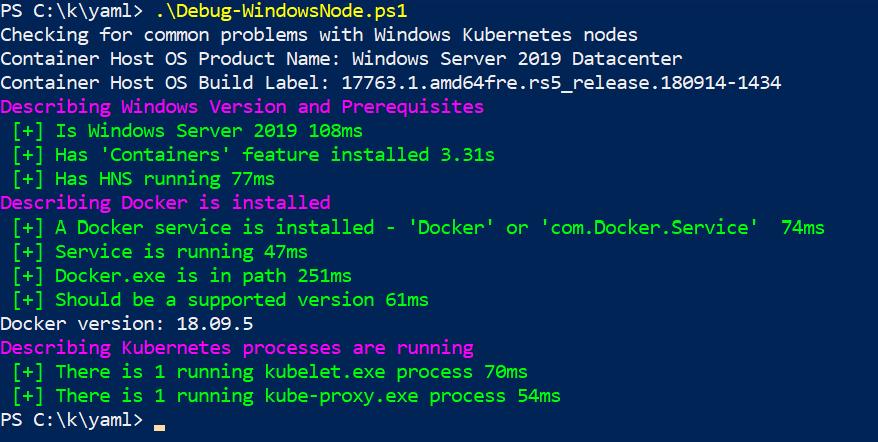 Verifying Kubernetes is installed