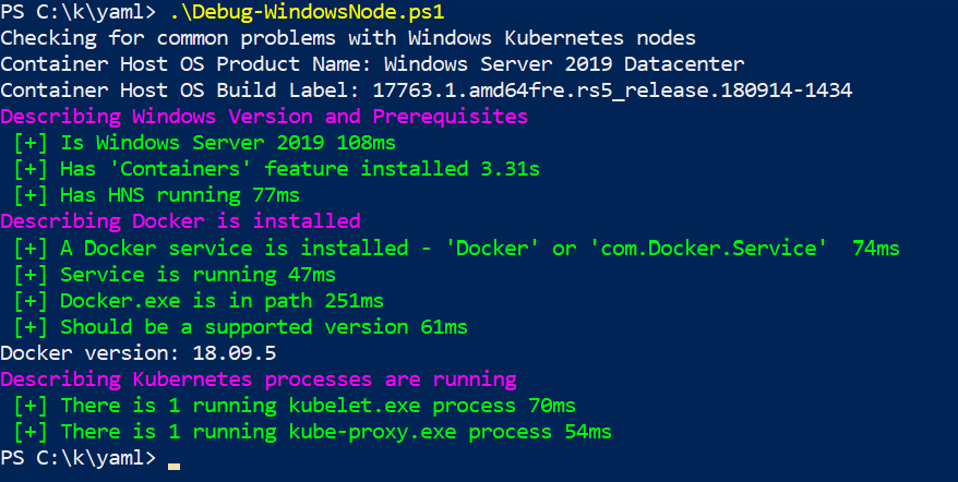Verifying Kubernetes is installed