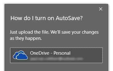 Select OneDrive