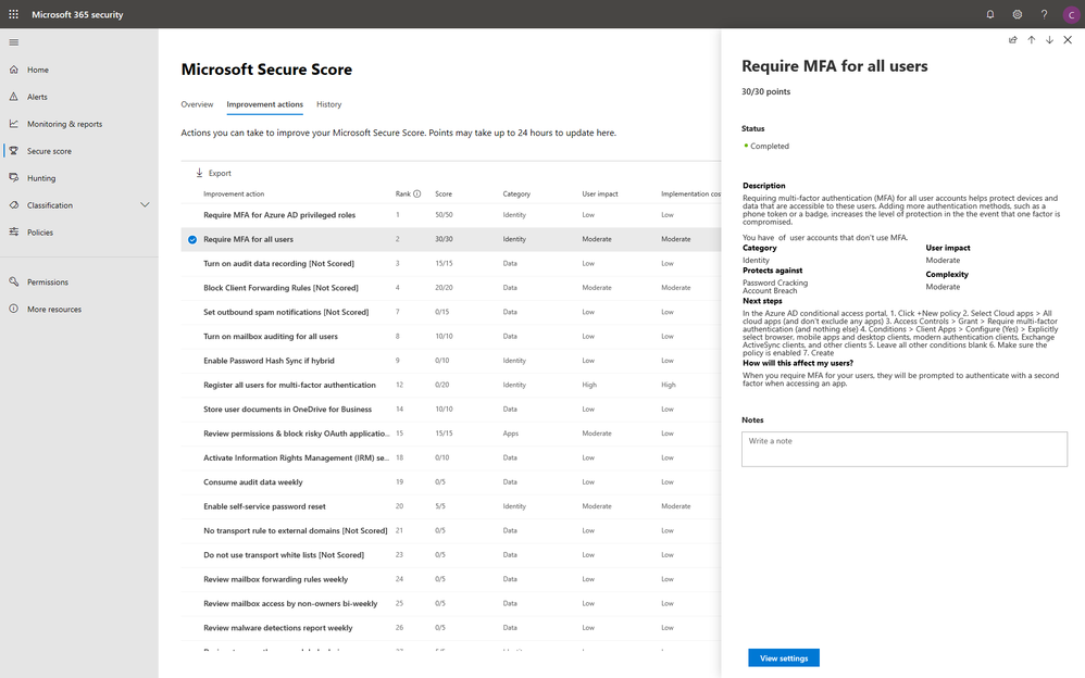 2019 - Blog 02 - A new home for an all-new look for Microsoft Secure Score - Final - Image 05.png