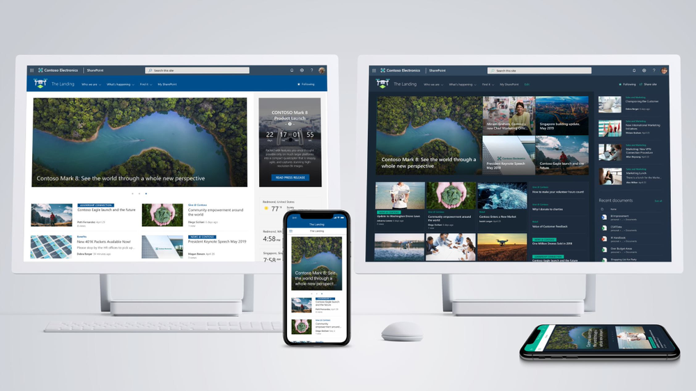Introducing SharePoint home sites