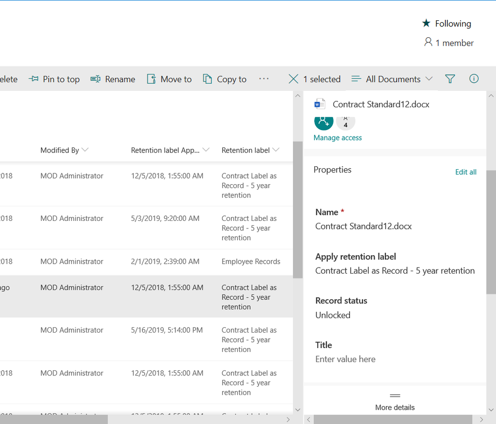 Enable collaboration and compliance with advanced record versioning.