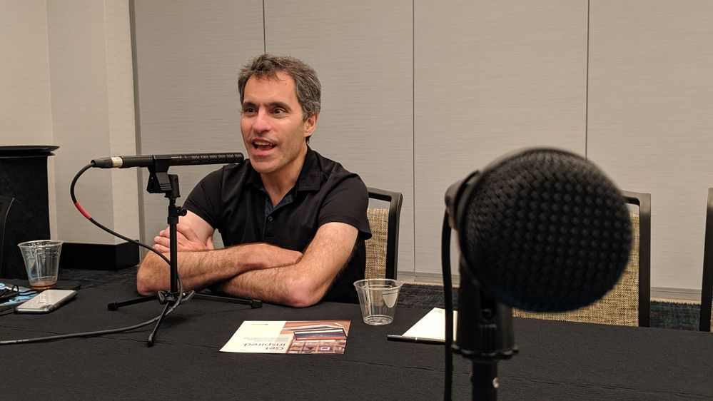 Jeff Teper interviewed for The Intrazone at MGM Grand Hotel in Las Vegas, NV for SharePoint Conference 2019.