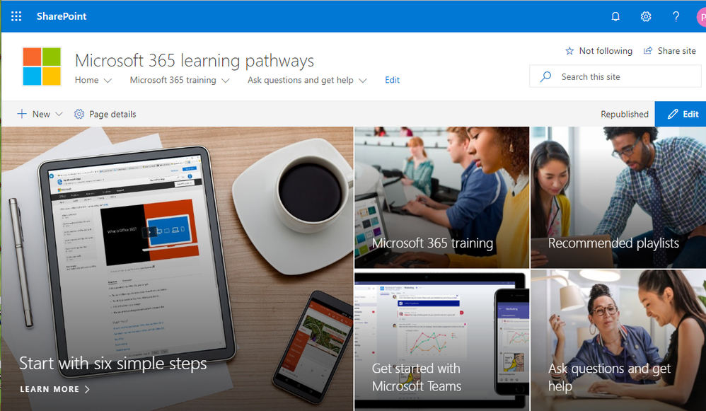Introducing Microsoft 365 learning pathways, your customizable, on-demand training solution