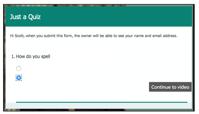 Example using embed in Sharepoint