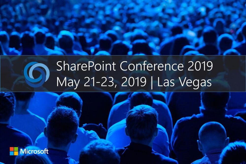SharePoint Conference 2019 took place in Las Vegas, NV, May 21-23, 2019. The keynote was streamed live and is now on-demand.
