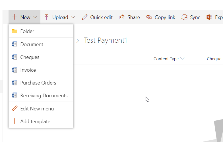 6. All content types show up now in modern view