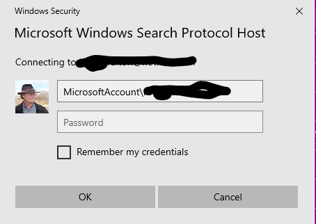 Notice the addition of MicrosoftAccount