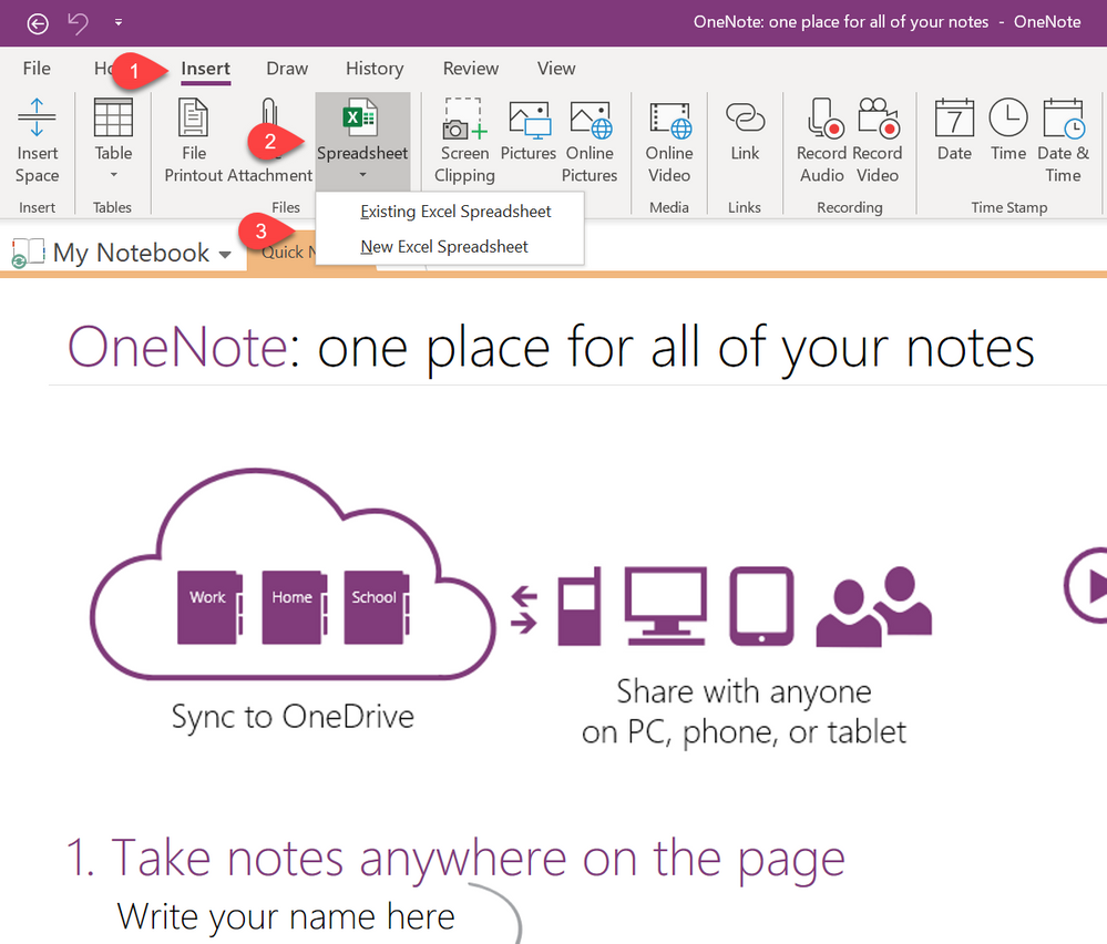 Insert Excel Spreadsheet into OneNote.png