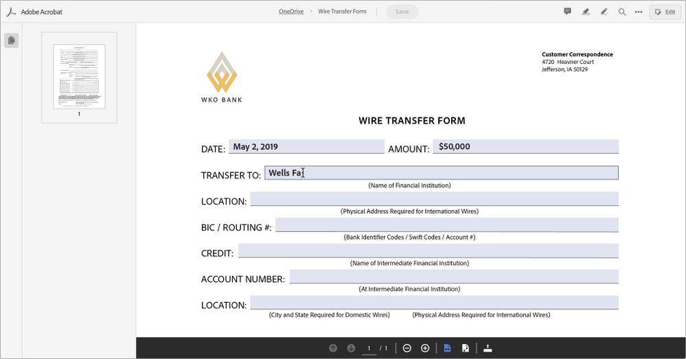 Adobe PDF Form Filling web tools