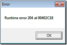 Law Manager runtime error on Windows 7