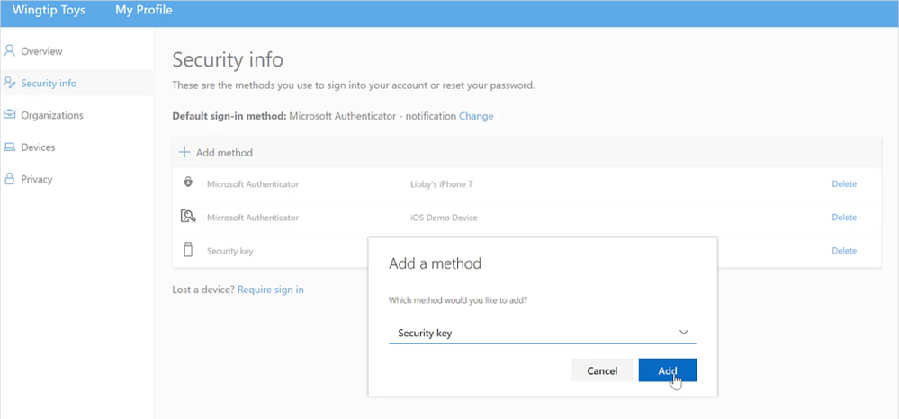 Public preview of Azure AD support for FIDO2 based passwordless 4.png