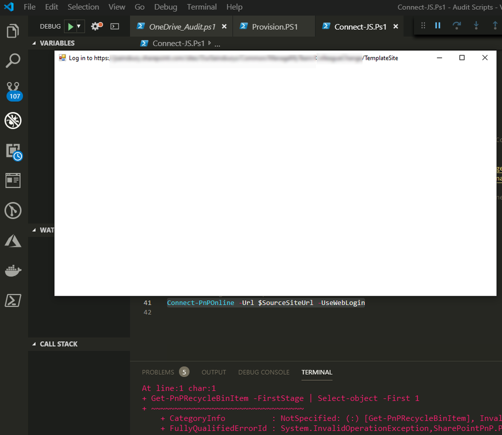 2FA Issue in VSCode.PNG
