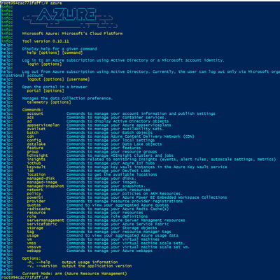 Azure CLI in a Docker container.PNG