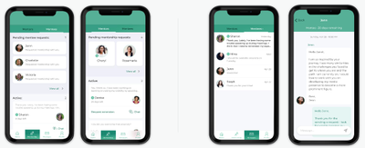 Found a mentor whose life story speaks to you? Request mentorship to connect and chat!