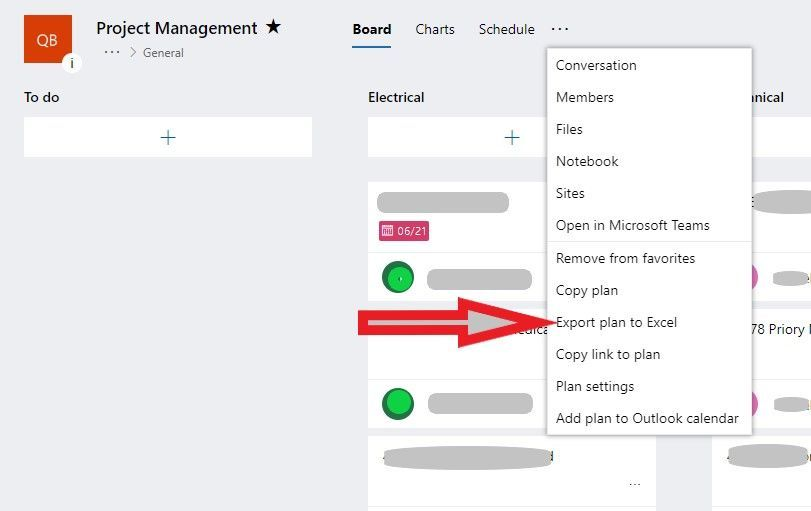 Planner [Web App] / Plan view