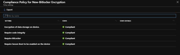 Device Compliance Success