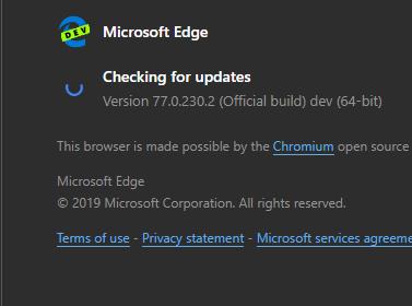 Chrome animation