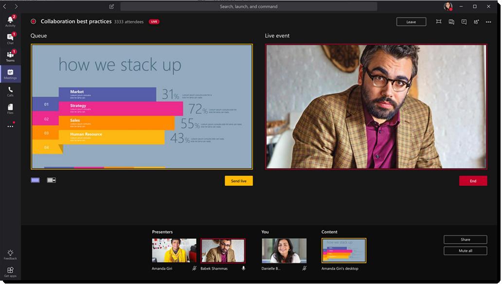 Microsoft Teams Live Events Webcast
