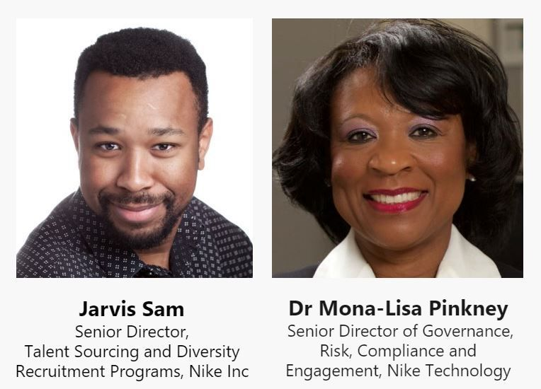 Hear from our guest speakers from Nike as we take an outside-in approach as we discuss all things diversity and inclusion!