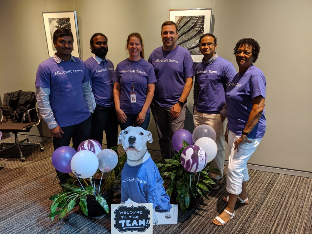 Our Pittsburgh Office Champions with our mascot Stuie