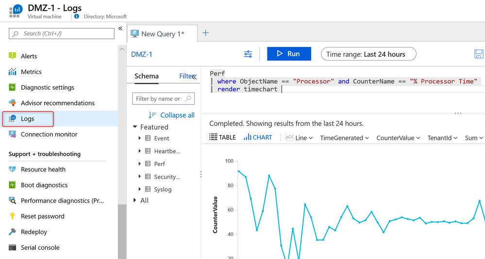 thumbnail image 2 of blog post titled  	 	 	  	 	 	 				 		 			 				 						 							Best practices for designing an Azure Sentinel or Azure Security Center Log Analytics workspace